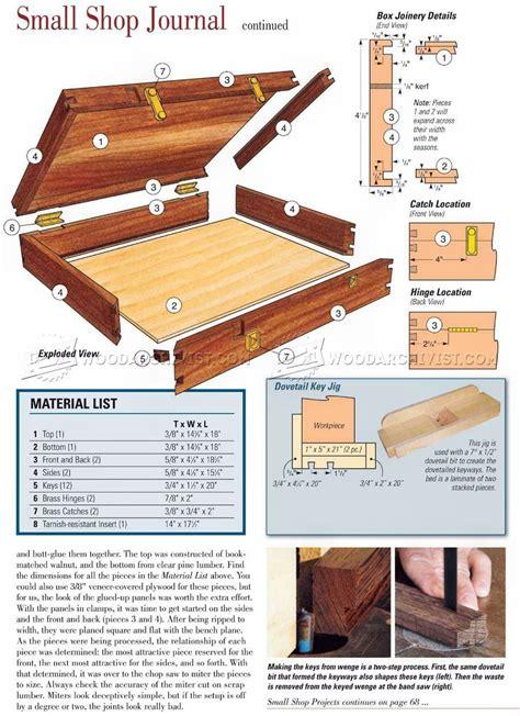 Silverware-Chest-Woodworking-Plans