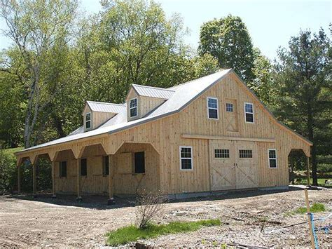 Simple Barn Plans With Living Quarters