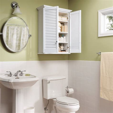 Simple Bathroom Cabinets