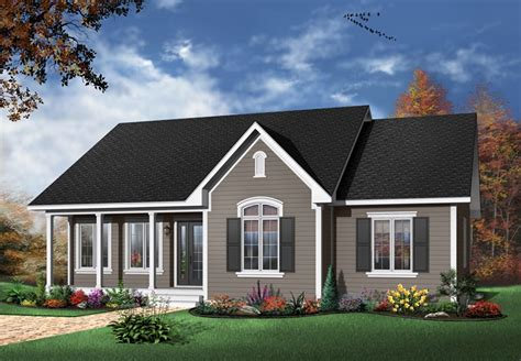 Simple Beach Cottage Plans One Story