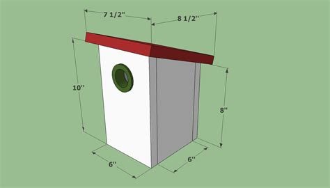 Simple Birdhouse Plans For Children