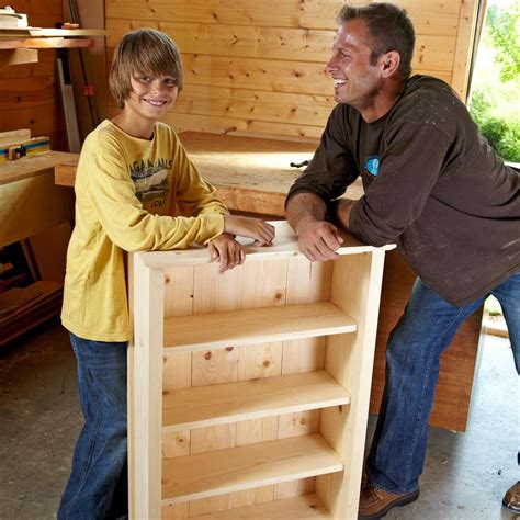 Simple Bookshelf Plans Usa