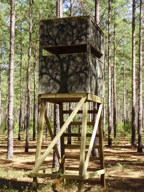 Simple Box Deer Stand Plans