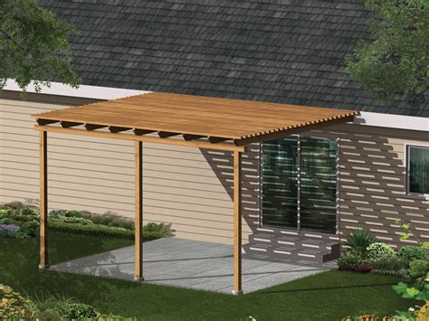 Simple Building Plan For Patio Cover