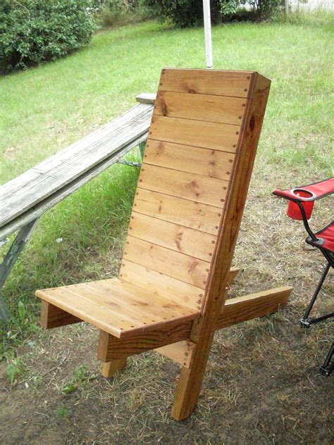 Simple Camp Chair Plans