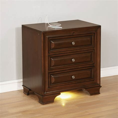Simple Cherry Nightstands 3