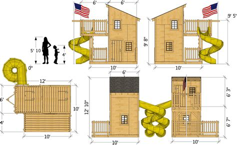 Simple Clubhouse Plans For Kids