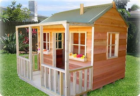 Simple Cubby House Plans