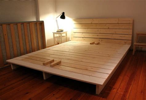 Simple DIY King Size Bed Frame