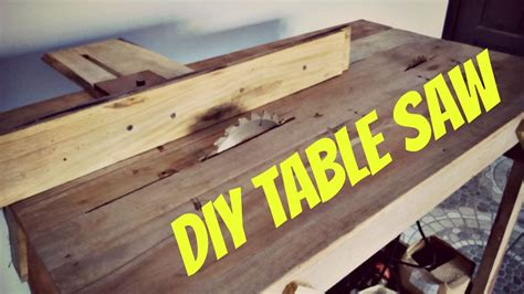 Simple DIY Table Saw
