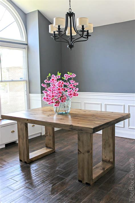 Simple Dining Table Diy Supplies