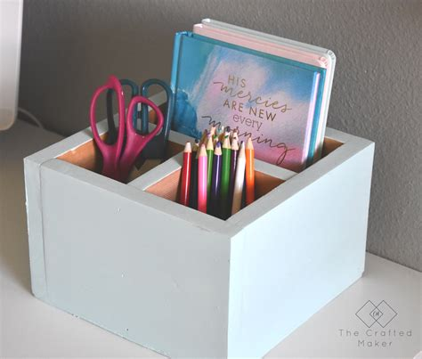 Simple Diy Desk Organizer