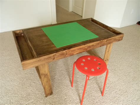 Simple Diy Lego Table