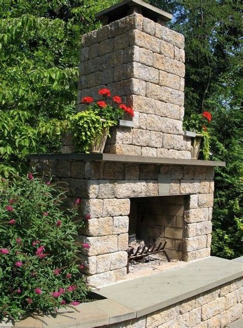 Simple Diy Outdoor Fireplace Videos