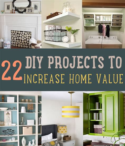 Simple Diy Projects To Increase Home Value