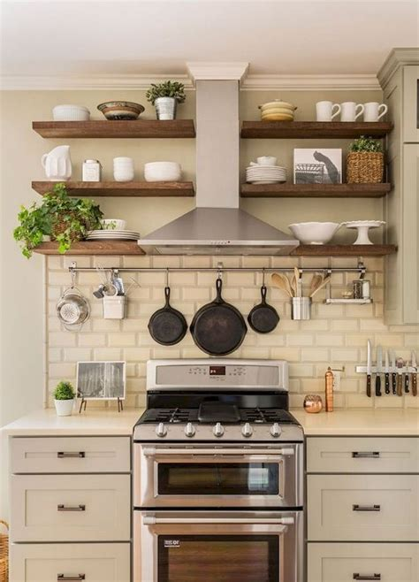 Simple Diy Shelves For Small Kitchen
