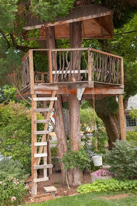 Simple Diy Treehouse