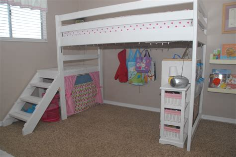 Simple Diy Twin Loft Bed