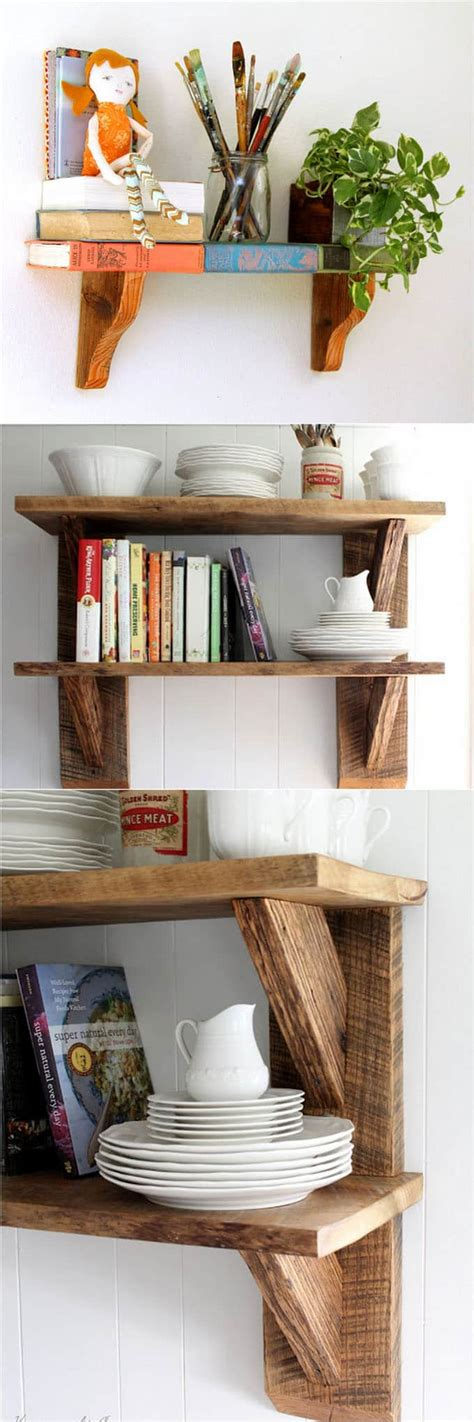 Simple Diy Wall Shelves