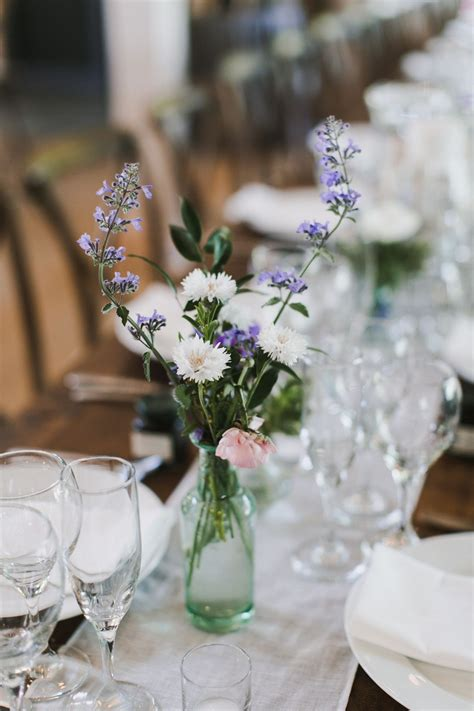 Simple Diy Wedding Table Centerpieces