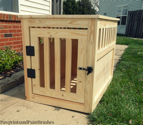 Simple Diy Wood Dog Crate
