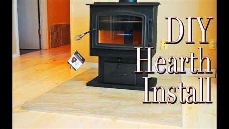 Simple Diy Wood Stove Hearth