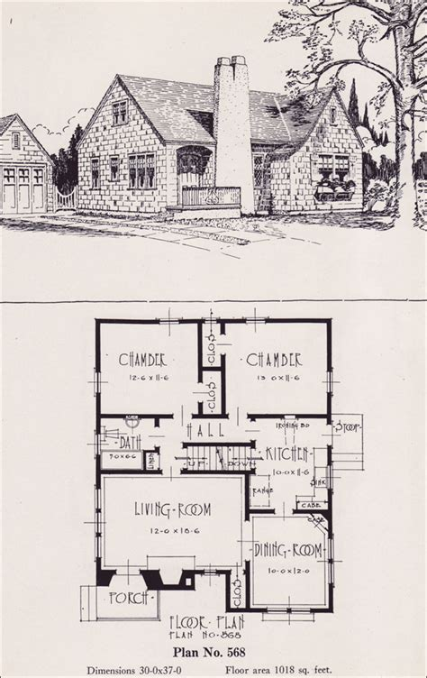 Simple English Cottage House Plans