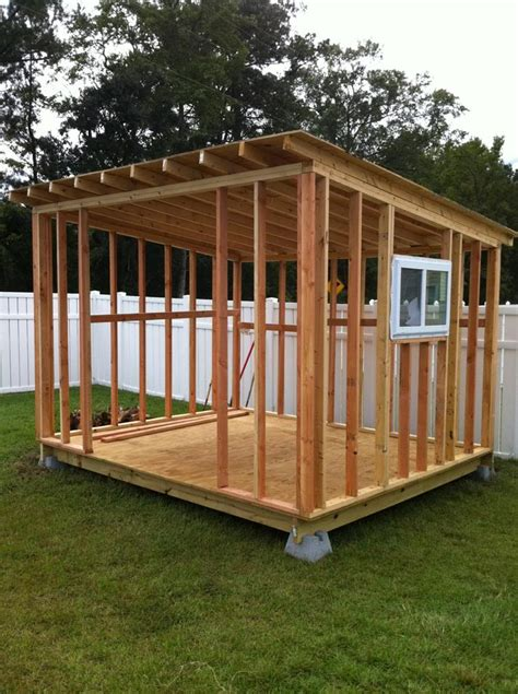 Simple Garden Shed Construction