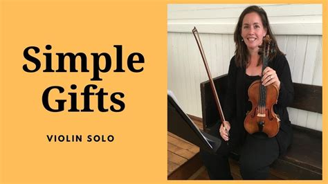 Simple Gifts Youtube