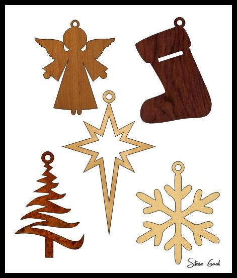 Simple Holiday Scroll Saw Patterns