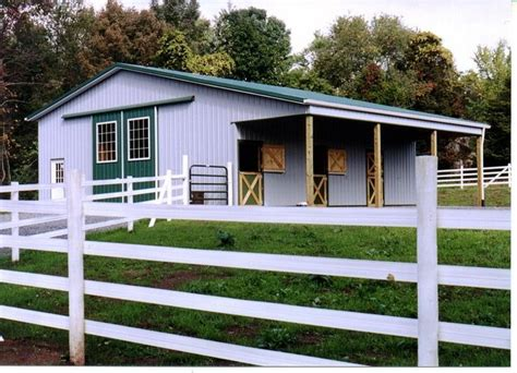 Simple Horse Stall Plans And Elevations
