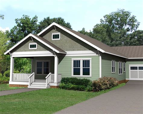 Simple House Plans With Attached Garage