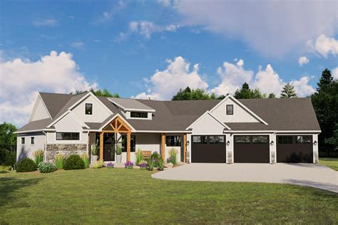 Simple House Plans With Garage And Porch