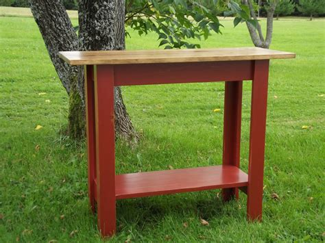 Simple Large Console Table Plans
