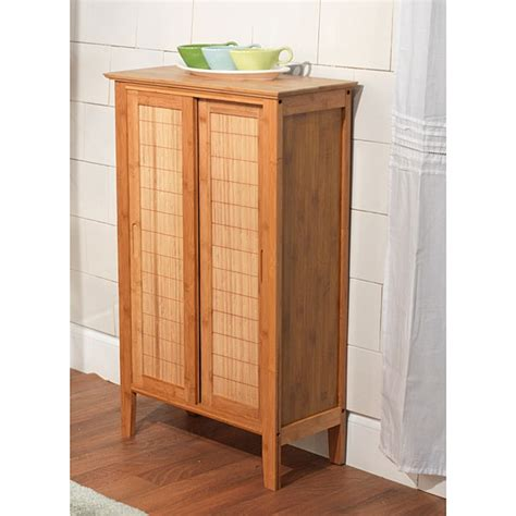 Simple Living Bamboo Bathroom Cabinets