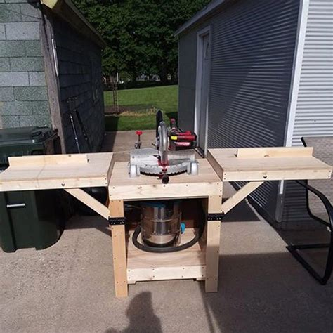 Simple Miter Saw Stand Diy