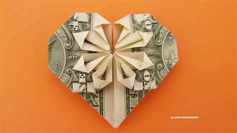 [pdf] Simple Money Origami Heart Instructions - Wordpress Com.