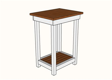 Simple Nightstand Plans Woodworking