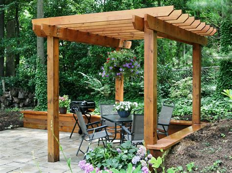 Simple Pergola Plans For Do It Yourself