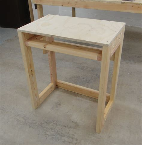 Simple Plywood Desk Plans
