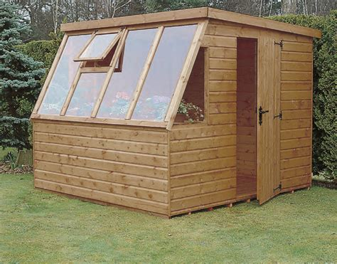 Simple Potting Shed Plans