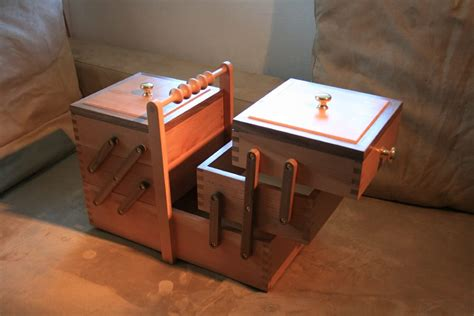 Simple Sewing Box Plans