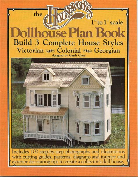Simple Small Dollhouse Plans 1 12