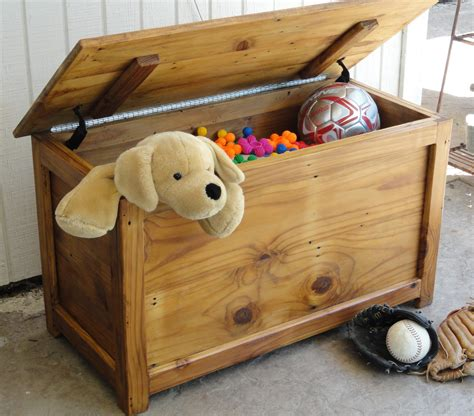 Simple Toy Box Plans