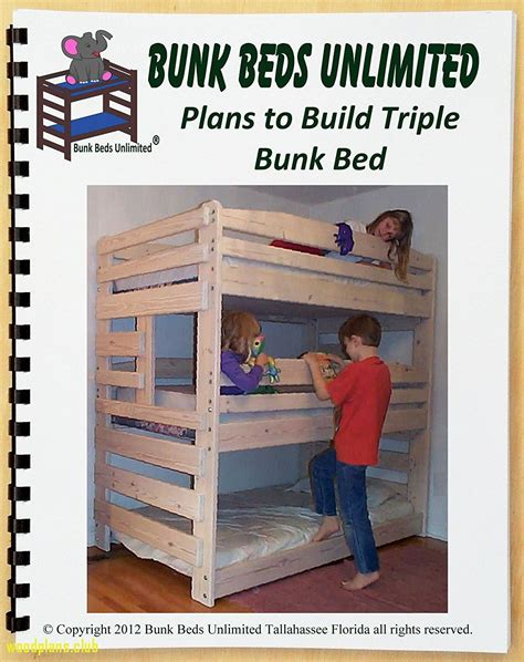 Simple Triple Bunk Bed Plans