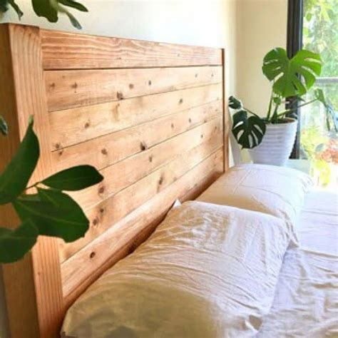 Simple Twin Diy Headboard