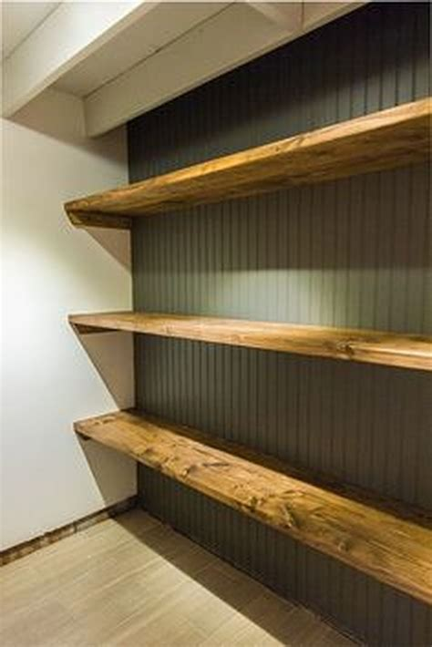 Simple Utility Wood Shelving Diy