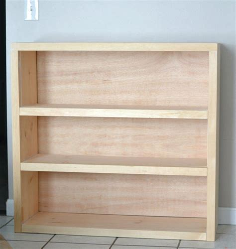 Simple Wood Bookshelf Plans