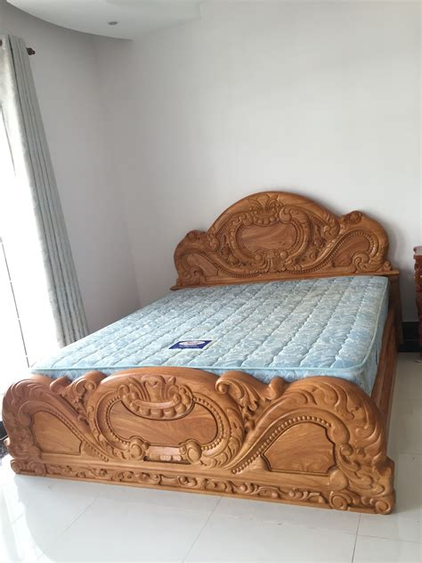 Simple Wood Box Bed Design