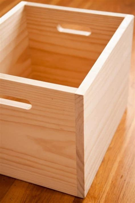 Simple Wood Box Diy